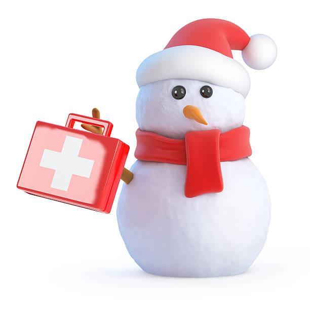 3d santa snowman holds up a first aid kit picture id519487177?b=1&k=6&m=519487177&s=612x612&w=0&h=gofcnefwmi3eodj819wtsxzh0gdx2gwekivzdrvzyxy=