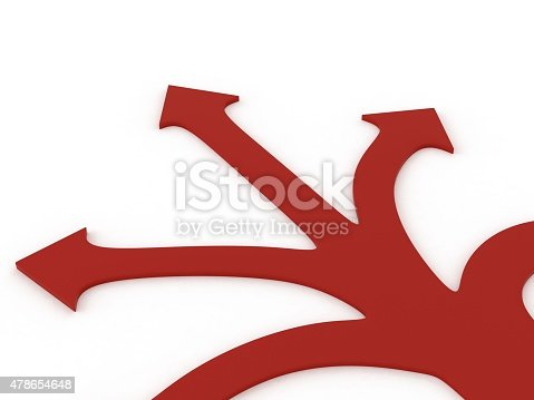 469720582 istock photo 3d small people making a choice on crossroads 478654648