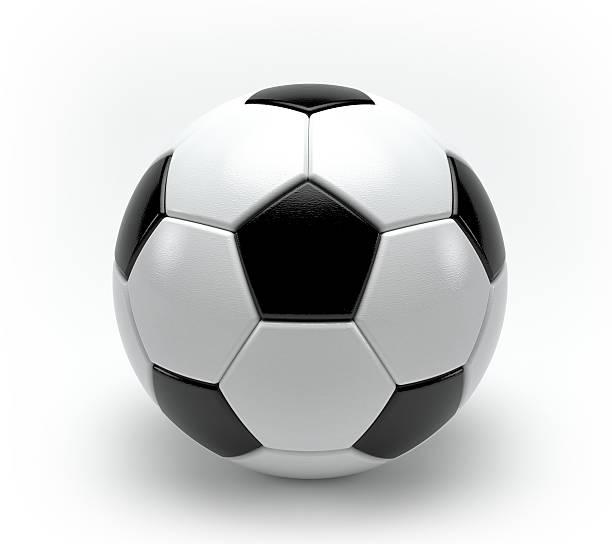 3 d Fußball-Spielball – Foto