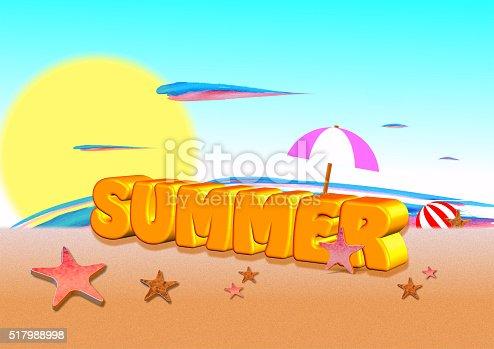 istock 3d summer 517988998