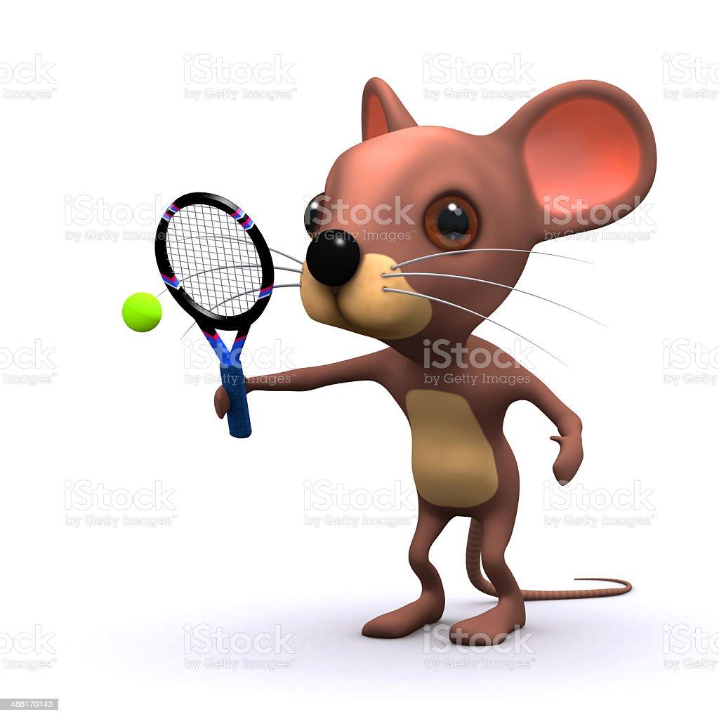3 D Tennis Maus Stock-Fotografie und mehr Bilder von Charakterkopf ...