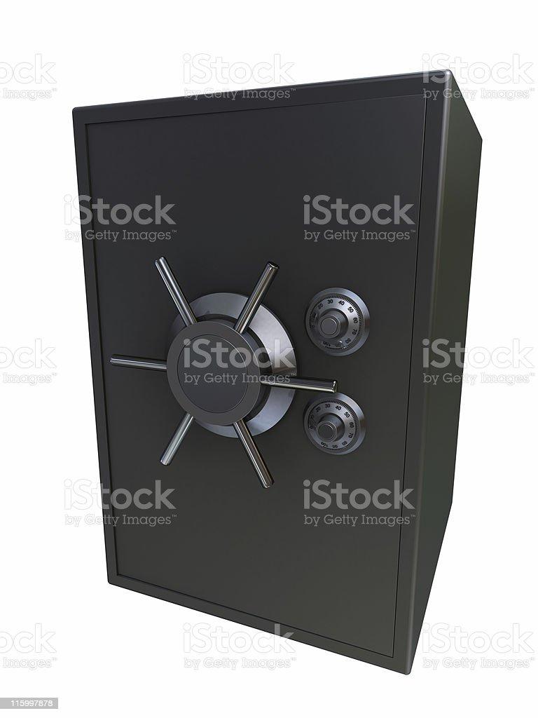 3d vault royalty-free stock photo