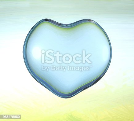859844580istockphoto 3d water heart illustration with drops and splash 968475860