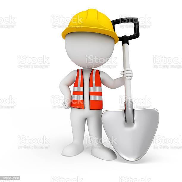 3d white character as worker with garden spade picture id186440366?b=1&k=6&m=186440366&s=612x612&h=lenmew4unbt  z rp ddd7omgo2 sq9jzgvkpu5l0xo=