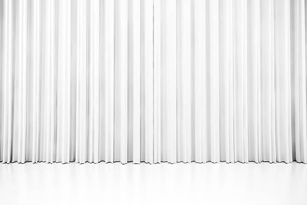 3 d weiß reinigung vorhang - gardinen weiß stock-fotos und bilder