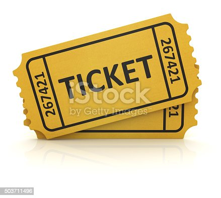 istock 3d yellow ticket 503711496