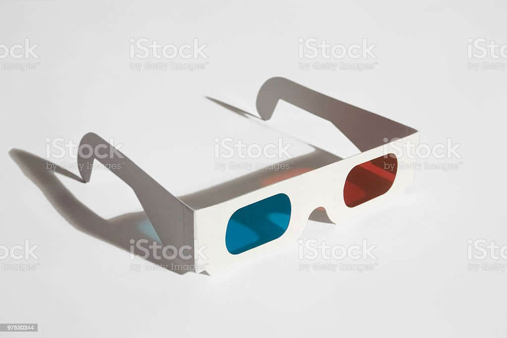3D-Glasses royalty-free stock photo