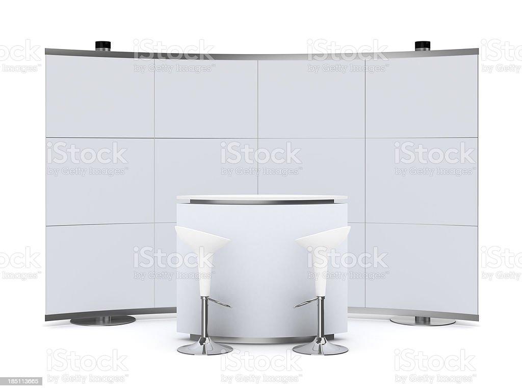 3 dTrade Werbung Stand mit der – Foto