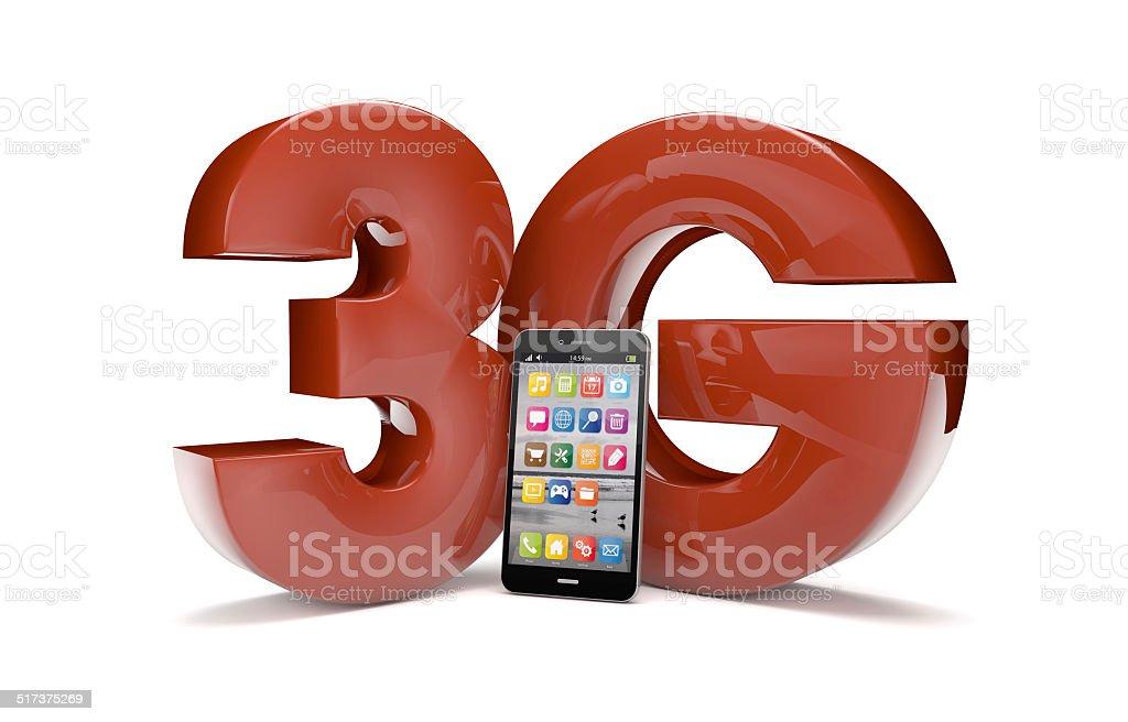 3g smartphone stock photo
