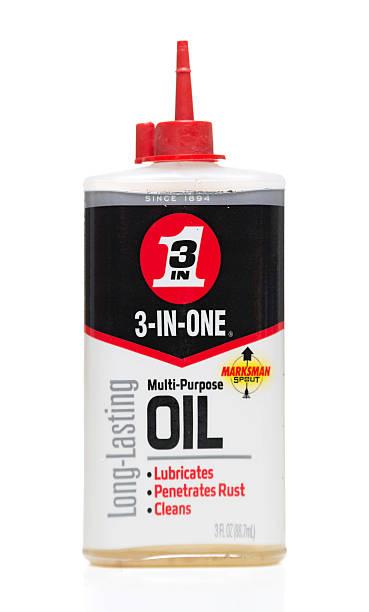 3-in-one multi-purpose oil bottle - penetrating bildbanksfoton och bilder