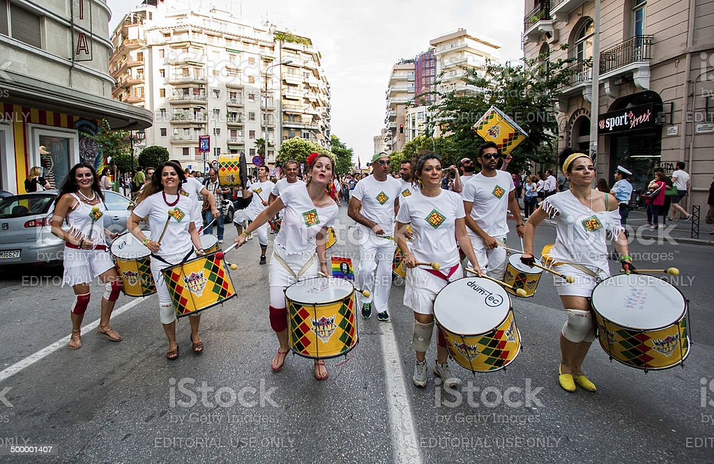 3rd Gay Pride Thessaloniki royalty-free stock photo