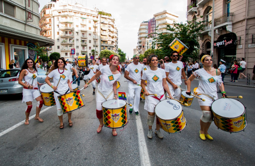 3rd Gay Pride Thessaloniki Stock Photo - Download Image Now