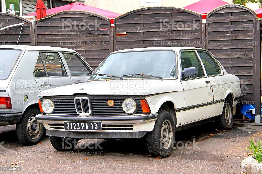 BMW E21 3-series stock photo