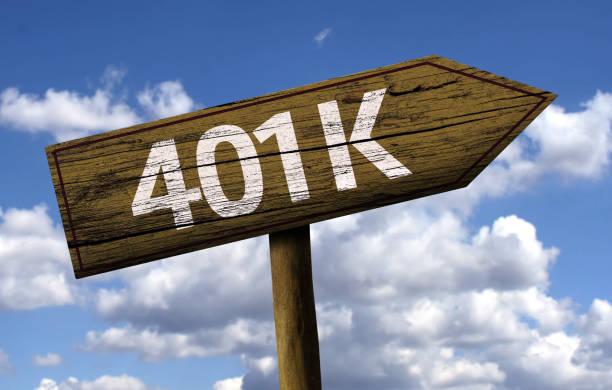 401 k holzschild - k projekt stock-fotos und bilder