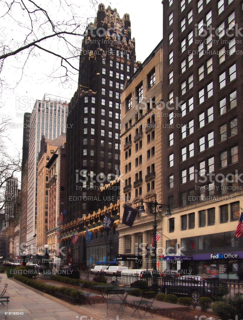 40th Street, New York stock photo