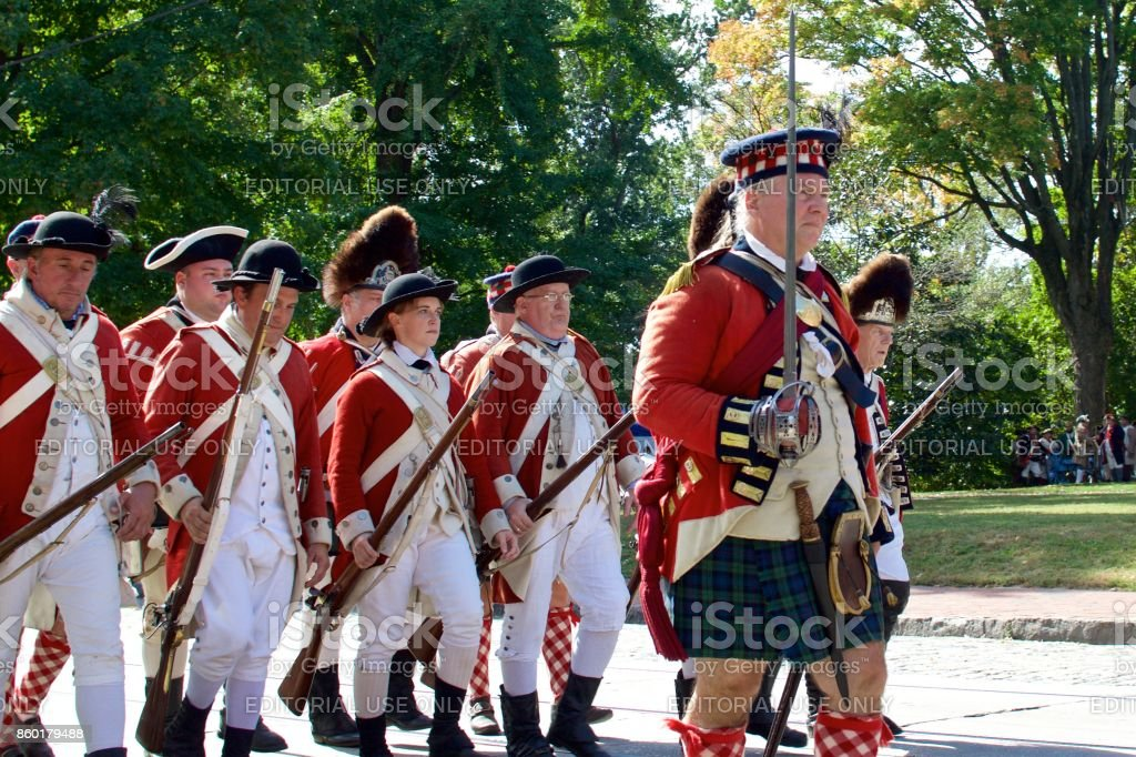 42nd (Highland) Regiment of Foot, or Black Watch stock photo