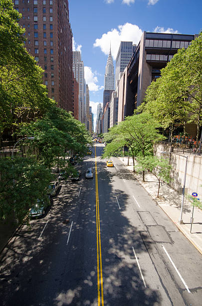 42nd Street, New York stock photo