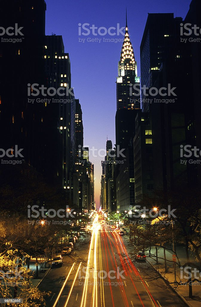 42nd Street, NYC royalty-free stock photo