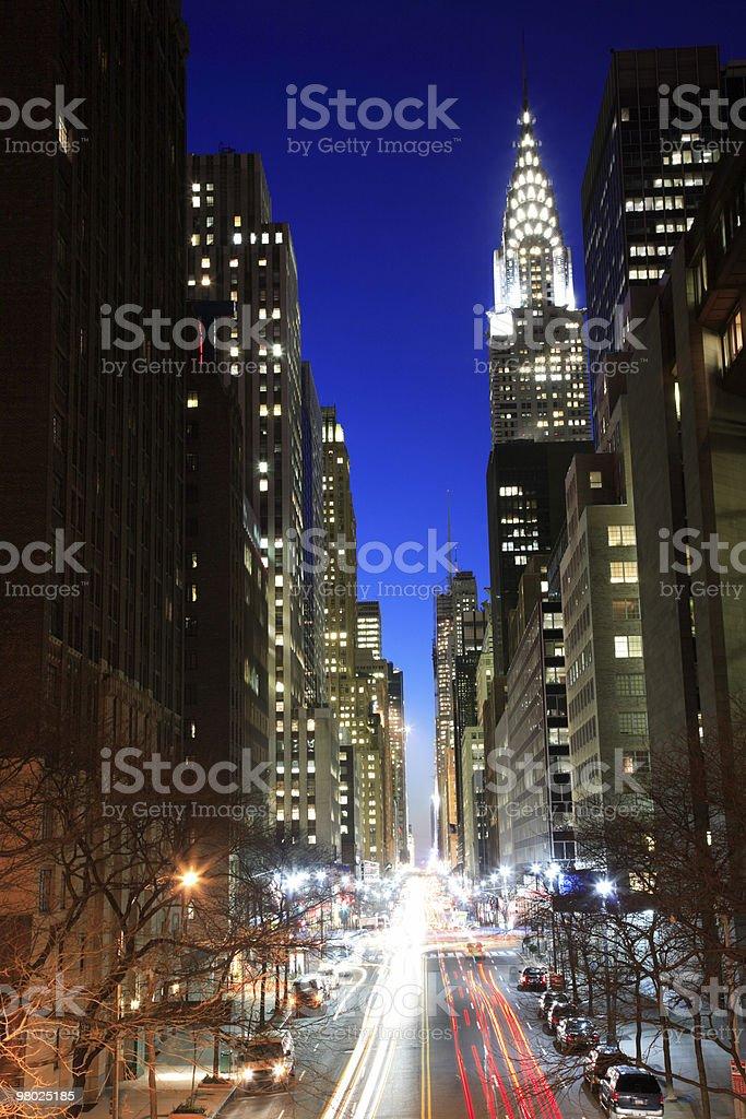 42 nd Street, New York foto stock royalty-free