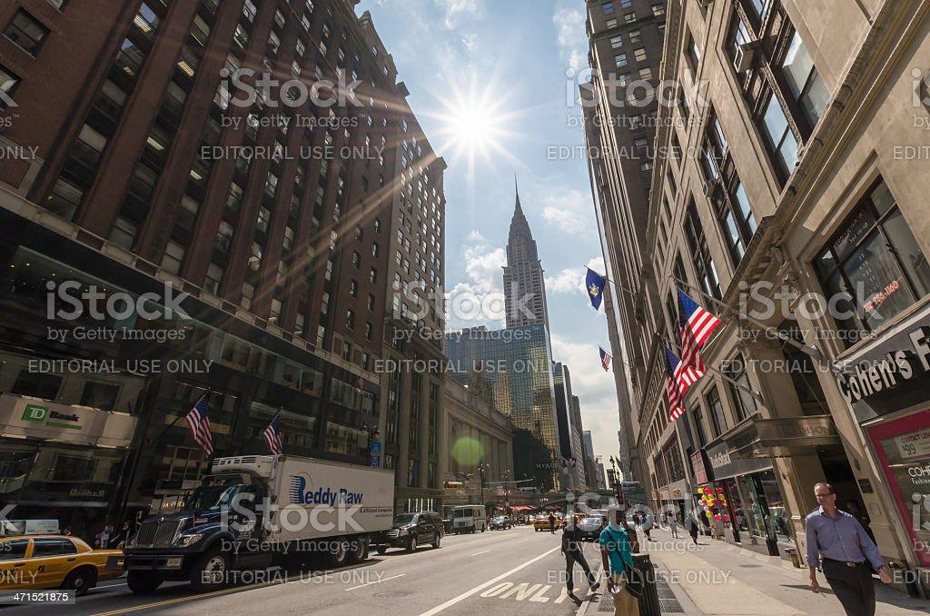 42nd street royalty-free stock photo