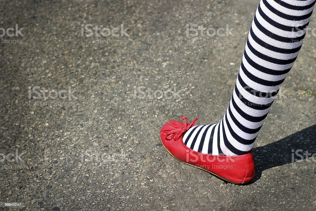 4th July Foot stock photo