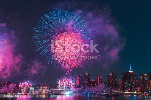 istock 4th July New York City Fireworks 993967290