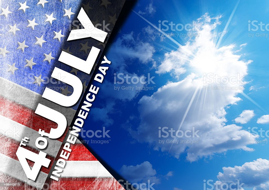4th of July - Independence Day royalty-free stock photo