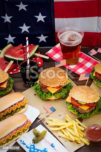 534317162istockphoto 4th of July Picnic 538165348