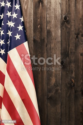 istock 4th of July, the US Independence Day. American flag. 675796468