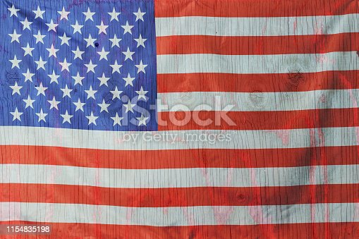 971061452 istock photo 4th of July, the US Independence Day, Copy space, Background, American flag, United States of America 1154835198