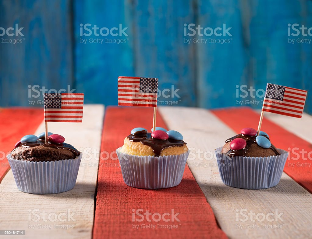 4th of July theme stock photo