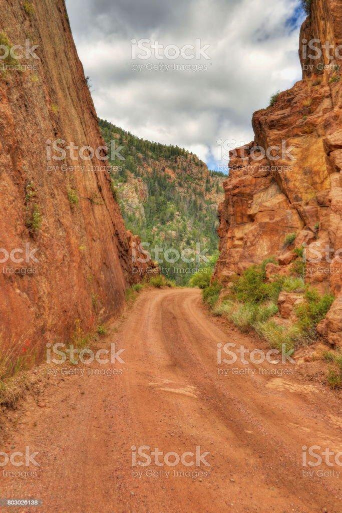 4wd Colorado stock photo