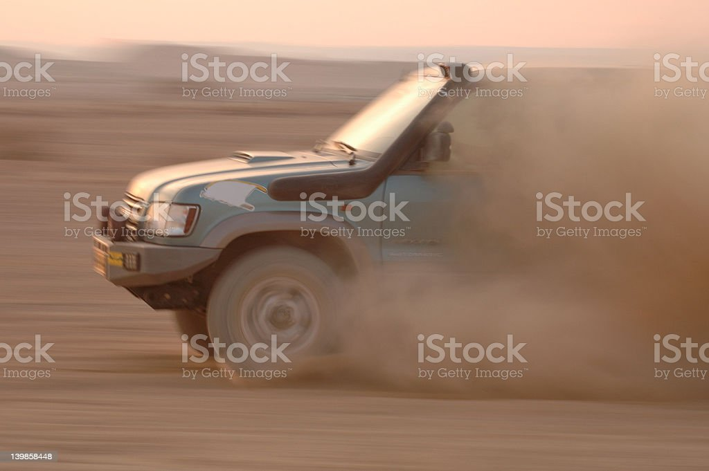 4wd desert race stock photo