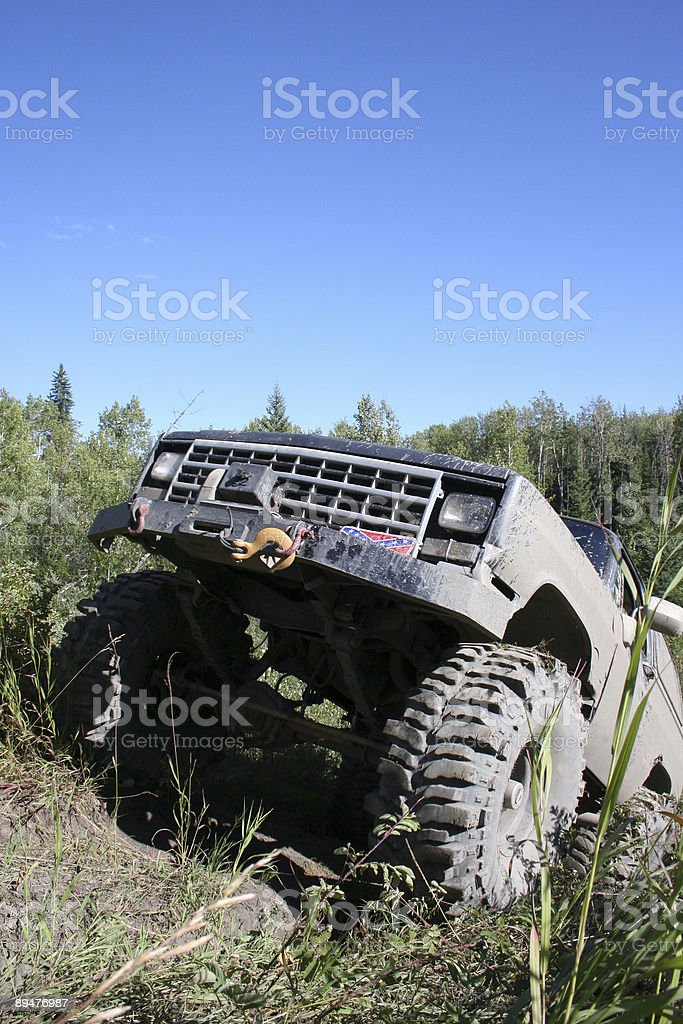 4x4 Offroading royalty-free stock photo