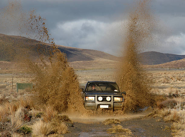 4x4 - mud stock photos and pictures