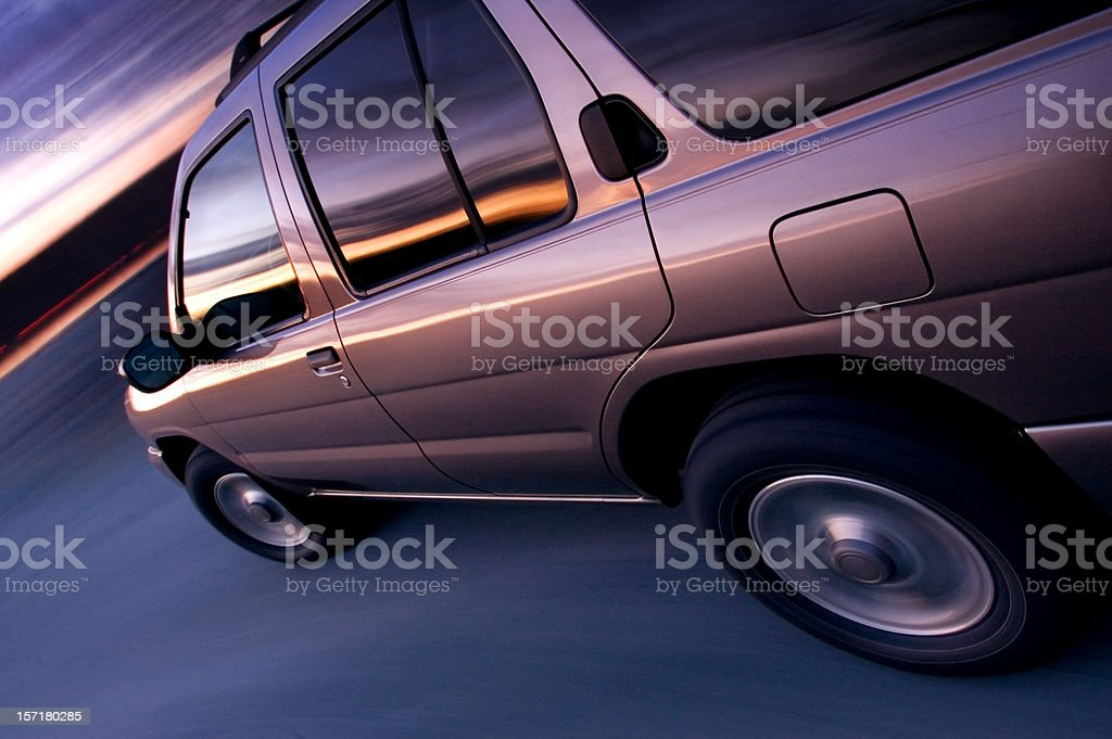 4x4 Sport Utility Vehicle stock photo