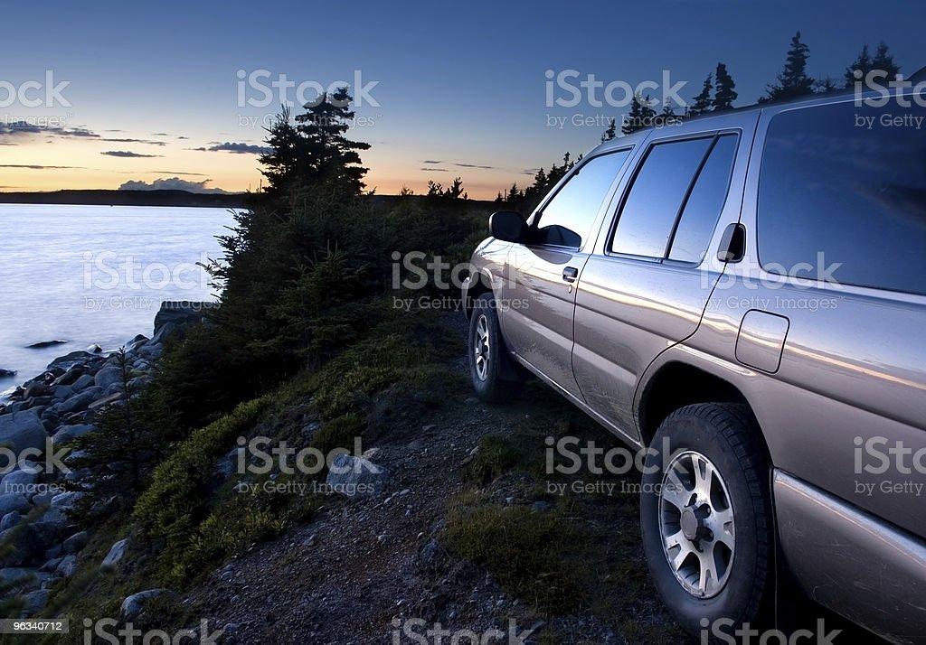 4x4 Sport Utility Vehicle royalty-free stock photo