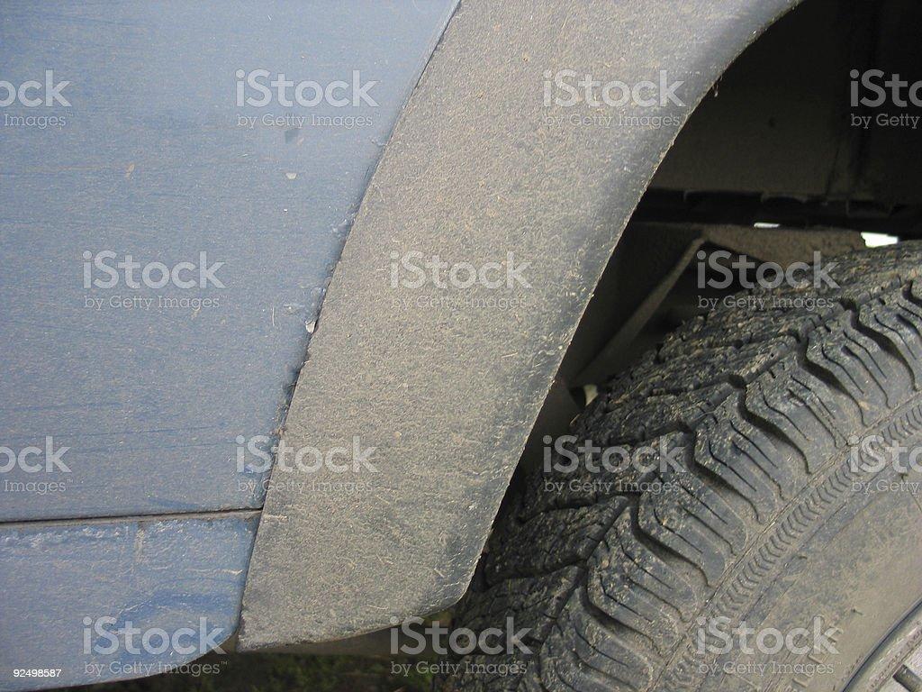 4x4 wheel rim royalty-free stock photo