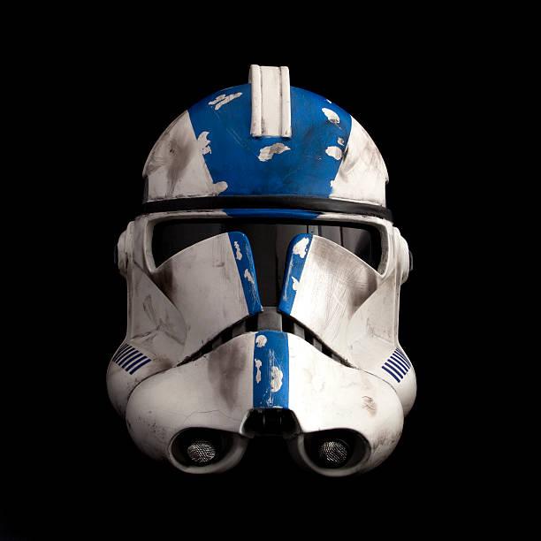 501 st klonen trooper phase ii helm - faschingskostüme star wars stock-fotos und bilder