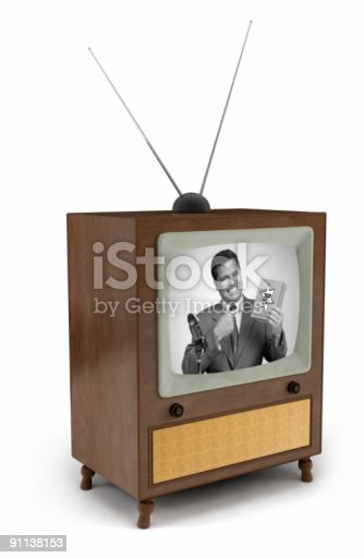91138159 istock photo 50s TV commercial 91138153