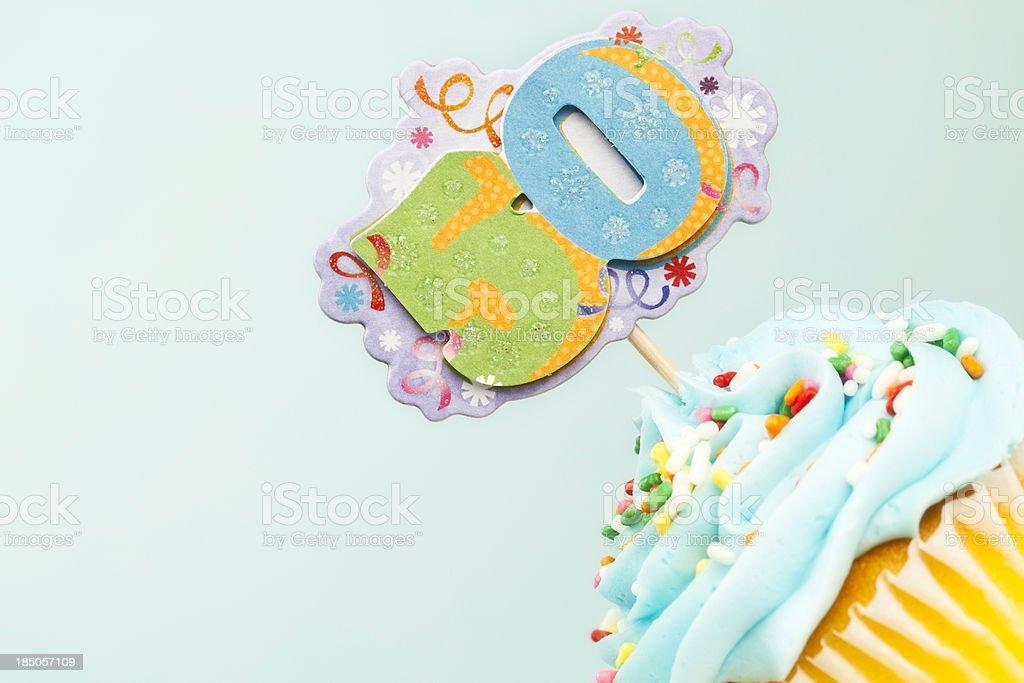 50. Geburtstag Cupcake – Foto