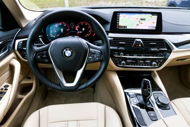 BMW 520d stock photo