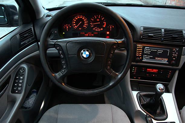 BMW E39 520i stok fotoğrafı