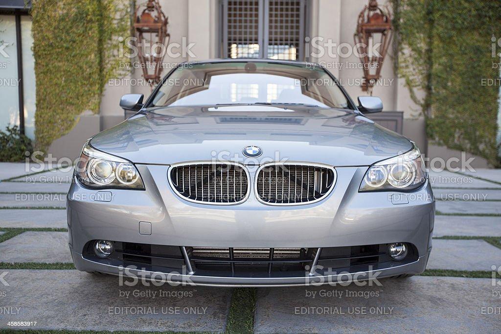 BMW 545i royalty-free stock photo