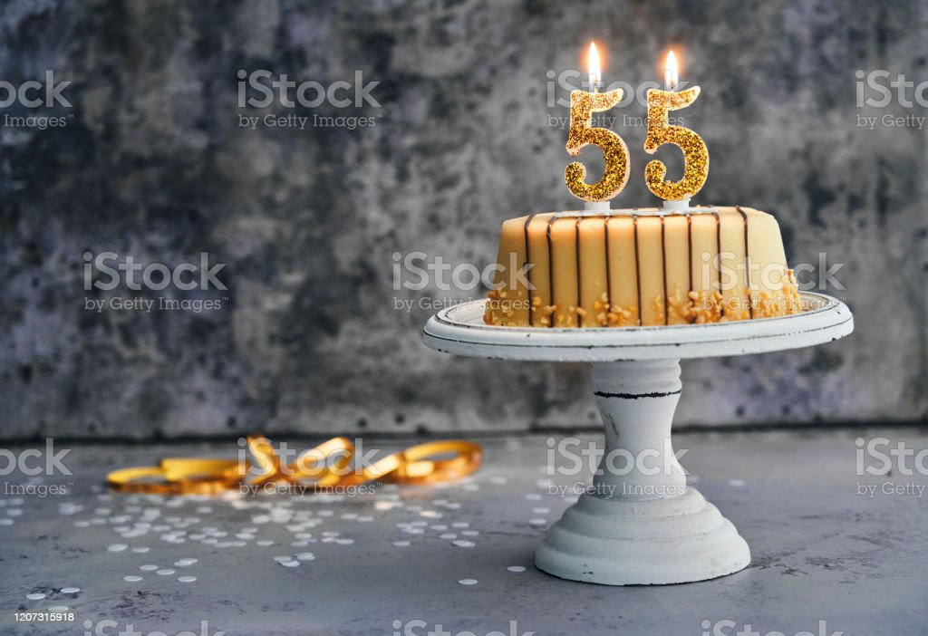 Miraculous 55Th Birthday Cake Stock Photo Download Image Now Istock Funny Birthday Cards Online Inifofree Goldxyz