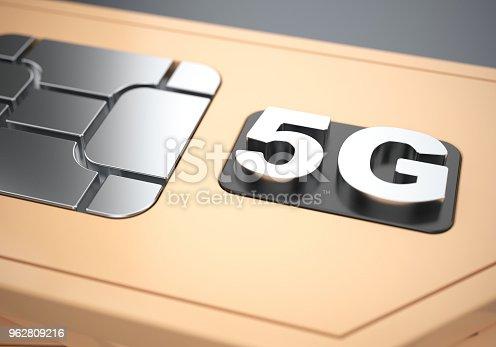 istock 5g SIM-card 962809216