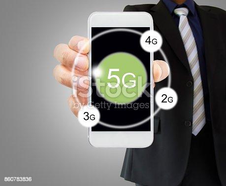 istock 5g techonology in my smartphone 860783836