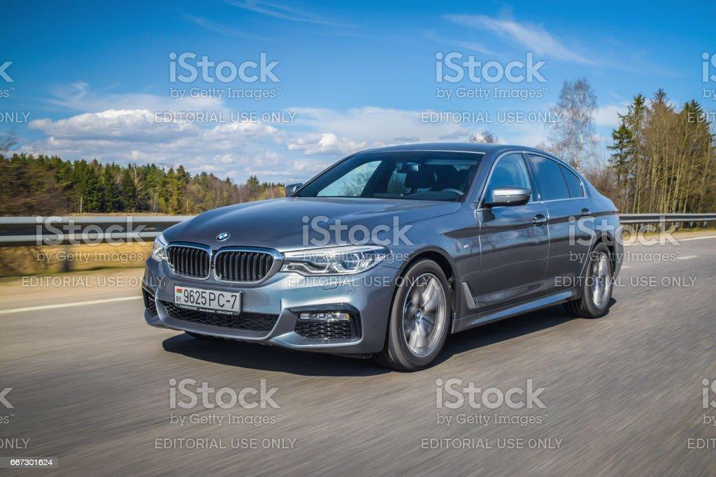 BMW 5-series (G30) stok fotoğrafı