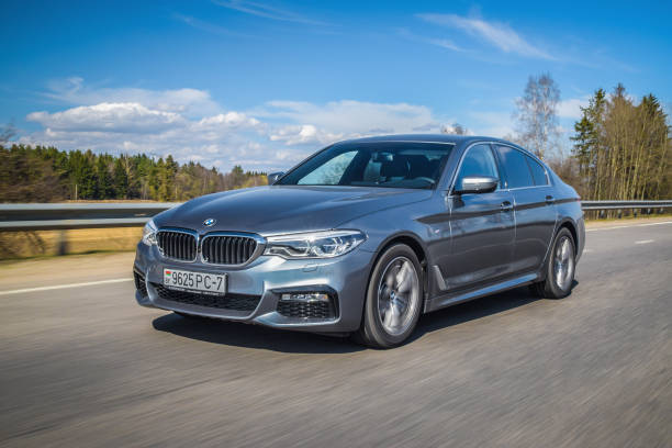 BMW 5-series (G30) stock photo