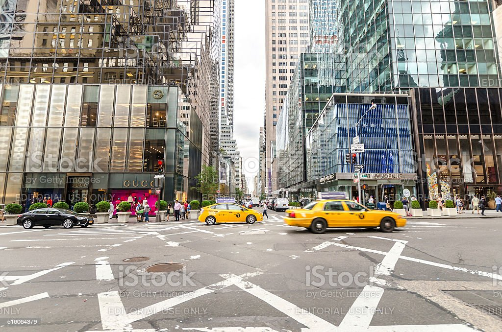 5th avenue stock photo